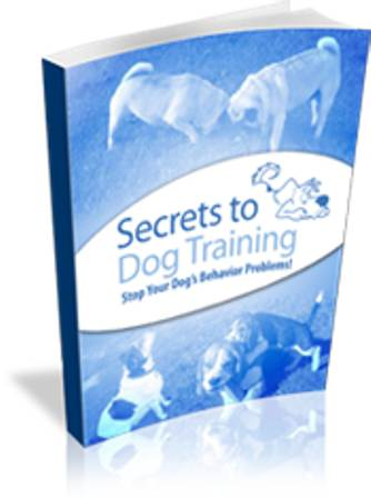 Secrets To Dog Training free pdf download