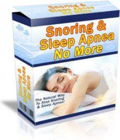 Snoring & Sleep Apnea No More free pdf download