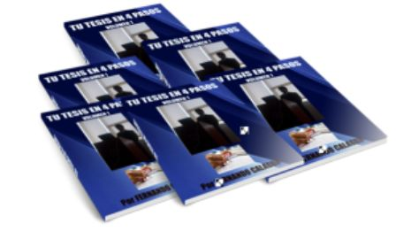 TU TESIS EN 4 PASOS pdf