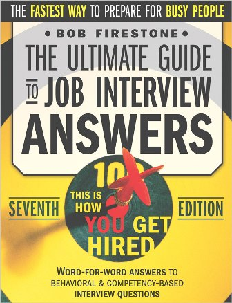 bob-firestone-the-ultimate-guide-to-job-interview-answers