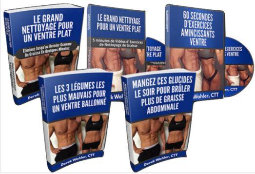 Le Grand Nettoyage Pour Un Ventre Plat e-cover